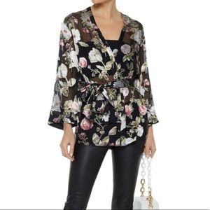 Alice Olivia silk top